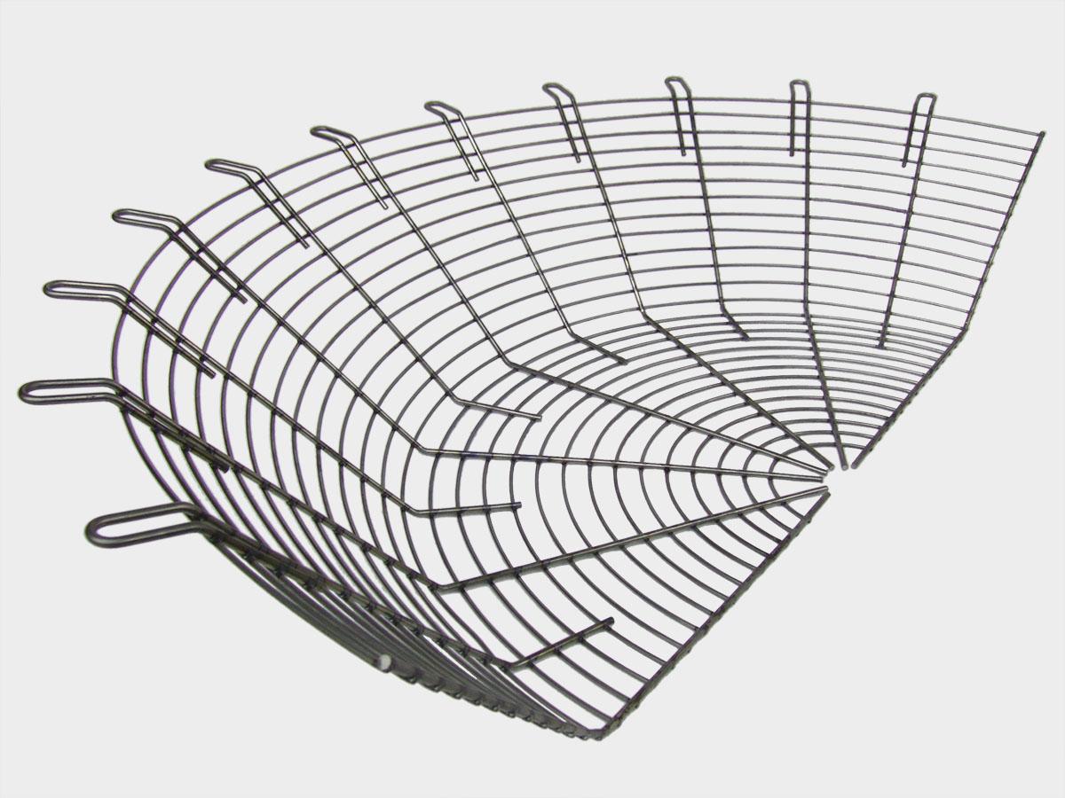 Semi-griglia a tronco di cono per ventilatori